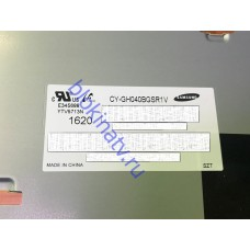 Матрица CY-GH040BGSR1V телевизор SAMSUNG UE40J5120AU