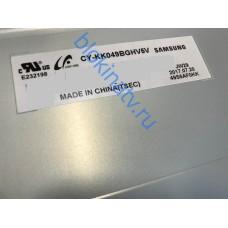 Матрица CY-KK049BGHV5V телевизор SAMSUNG UE49M5510AU CD04