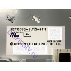 Матрица HC430DGG-SLTL3-2111 телевизор LG 43UJ634V
