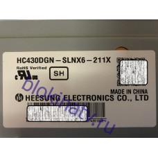 Матрица HC430DGN-SLNX6-211X телевизор LG 43UH619V