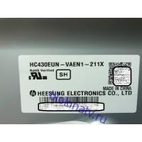 Стекло матрица HC430EUN-VAEN1-211X телевизор SONY KDL-43W807C