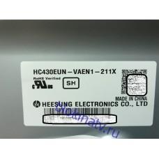 Матрица HC430EUN-VAEN1-211X телевизор LG 43LF570V