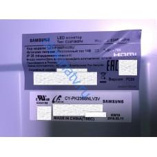 Подсветка для матрицы CY-PK236BNLV3V монитор SAMSUNG C24F390FH