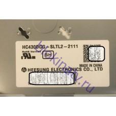 Матрица HC430DGG-SLTL2-211 телевизор LG 43UJ639V