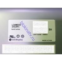 Подсветка в сборе на матрицу LC490EGE XG M1 телевизор LG 49UB828V